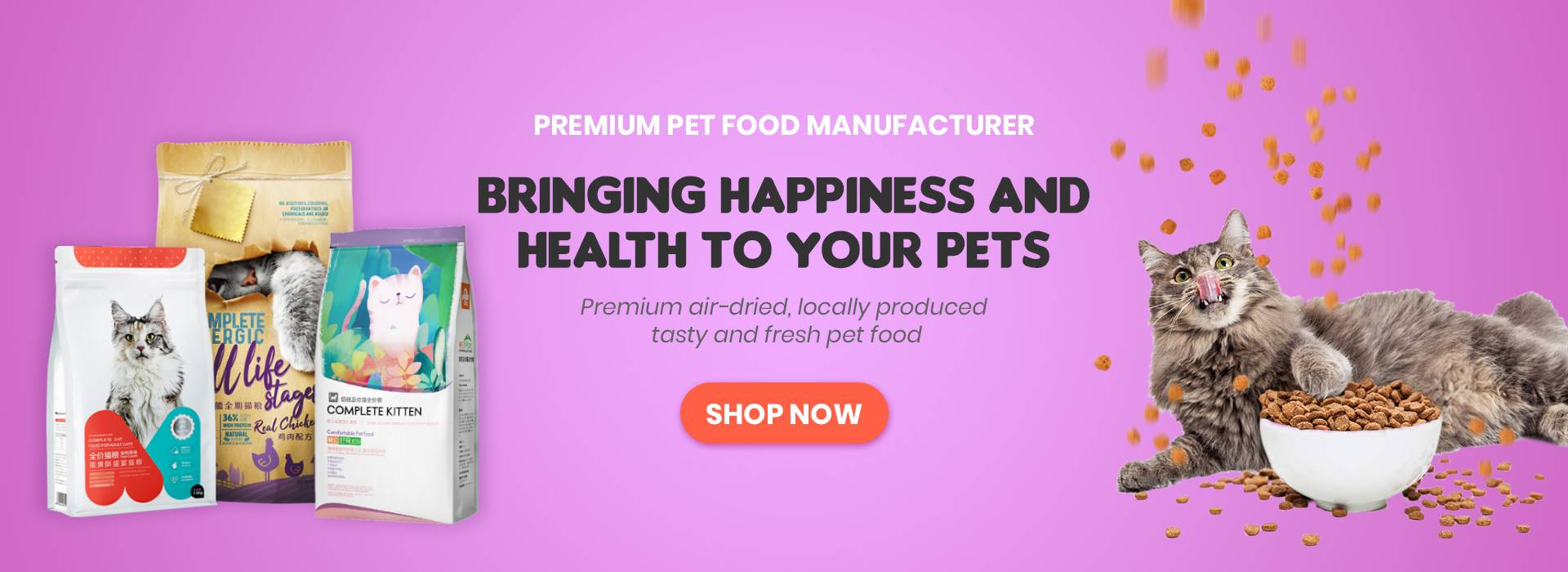 Bringing Happiness and Health to Your Pets